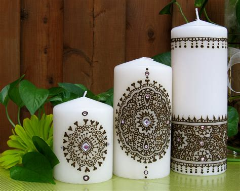 henna design on candle henna candle google search henna pinterest hennas