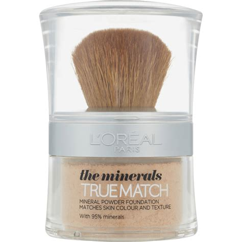 L Oreal True Match Mineral Foundation l or 233 al true match minerals foundation various