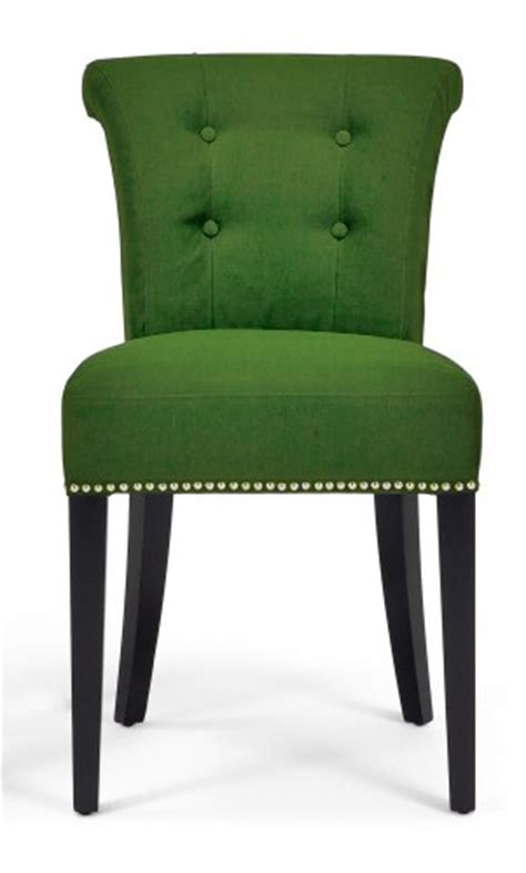 Green Dining Room Chairs Napoli Stylish Dining Chair With Stylish Knocker Funique Co Uk
