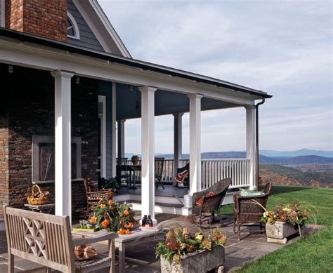 covered back porches 17 back porch designs ideas design trends premium