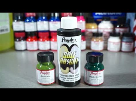 angelus paint unboxing angelusdirect on topsy one
