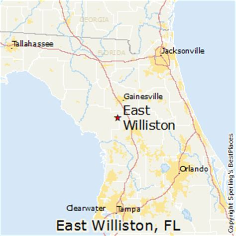 williston florida map best places to live in east williston florida