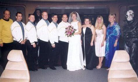 themed weddings trek the experience wedding fanatic