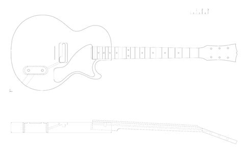 les paul routing template image collections templates