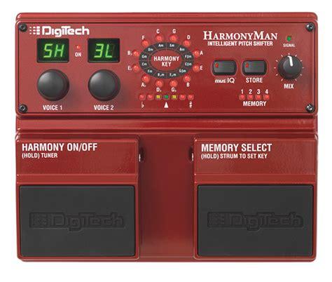 best harmony pedal harmonyman digitech guitar effects
