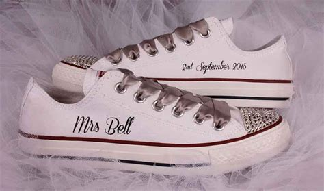 custom wedding sneakers bridal converse shoes custom wedding converse