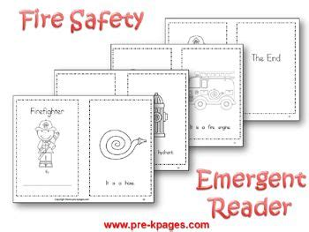 preschool fire safety booklet printables fire safety