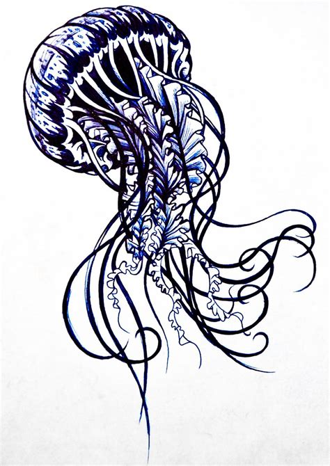 immortal ink tattoo immortal jellyfish jellyfish design