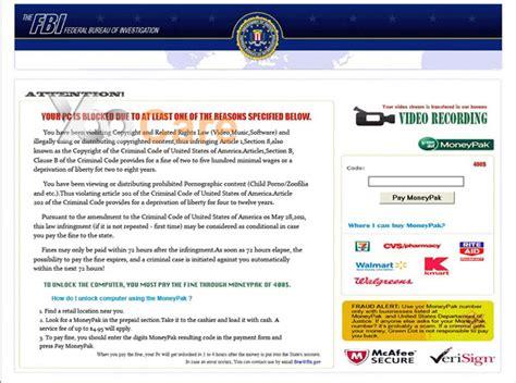 Fbi Phone Number Lookup Fbi Moneypak Virus Blocked Pc Or Android Phone Asking To