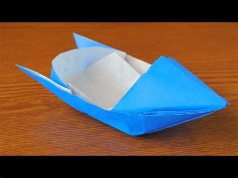 origami motorboat 折り紙 モーターボートの作り方 origami motorboat instructions youtube