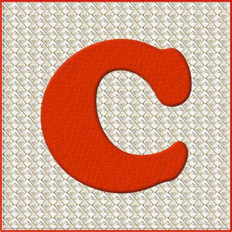 alphabet 1 c free stock photo