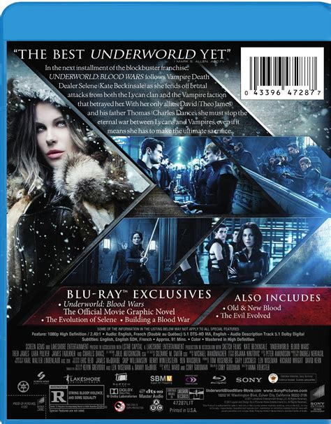 download film underworld blu ray underworld blood wars blu ray cover back screen