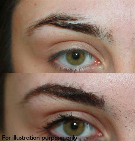 should you tattoo your eyebrows eyebrow correction do you have scarred eyebrows thin or