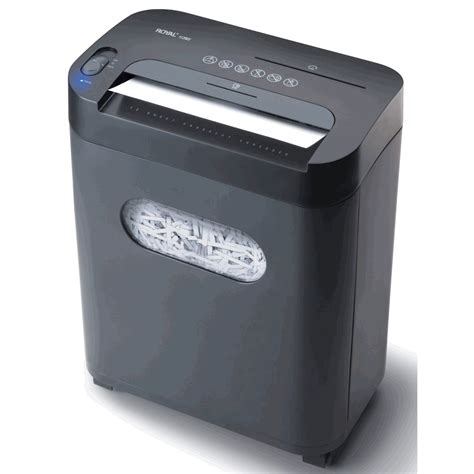 paper shredder royal 112mx 12 sheet cross cut shredder
