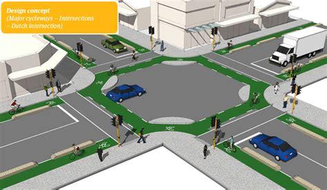 junction design guidelines junction design in the netherlands bicycle dutch