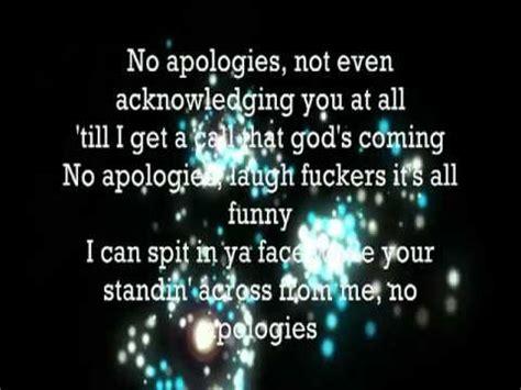 what s in a name with apologies to shakespeare plenty eminem no apologies lyrics