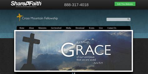 9 Beautiful Free Church Website Themes Templates Free Premium Templates Church Website Templates