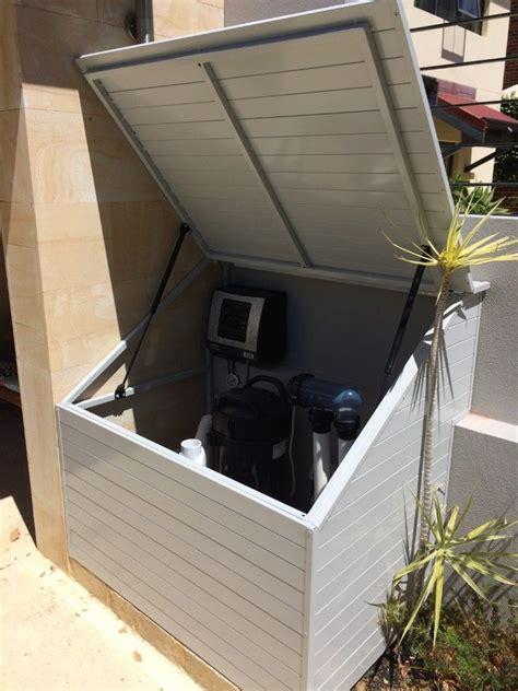 filterpump enclosures pool blanket boxes pool