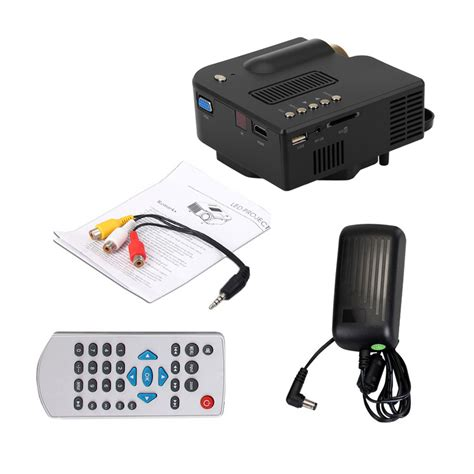 Paket Mini Lulur Hb mastek led mini projeksiyon cihazı ev sineması usb hdmi fiyatı
