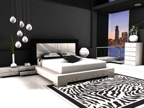 white and black room contemporary black and white bedroom design sleek and