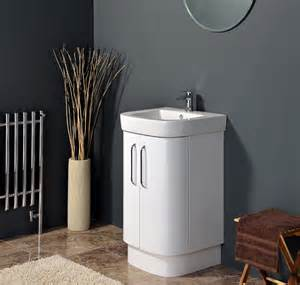 curved vanity unit images