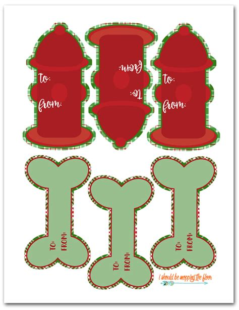 printable dog gift tags i should be mopping the floor free printable dog gift tags