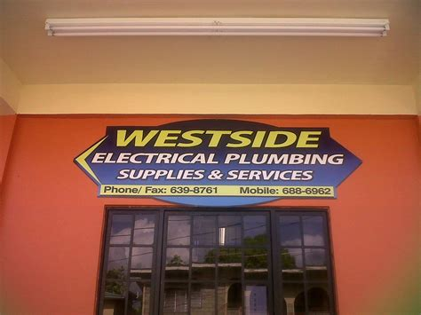Westside Plumbing by Westside Electrical Plumbing Services Tobago Insider