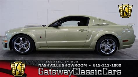 2005 roush mustang sale 2005 ford mustang roush gateway classic cars of