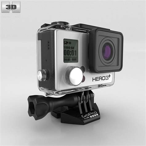 gopro models gopro hero3 3d model humster3d