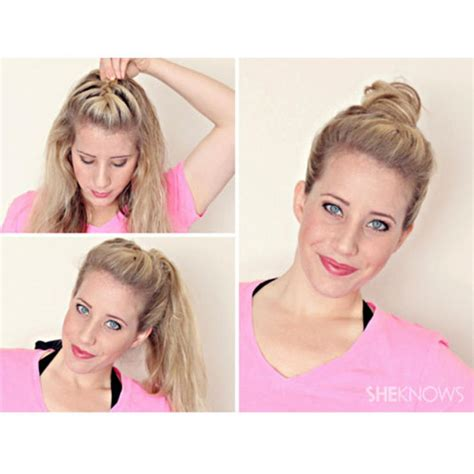 gibson knot hairdo for wet hair 7 gorgeous ways to style wet hair the slick knot