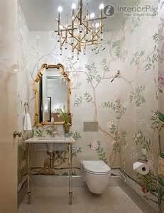 Designer Bathroom Wallpaper Modern Minimalist Bathroom Wallpaper Decoration Real Map
