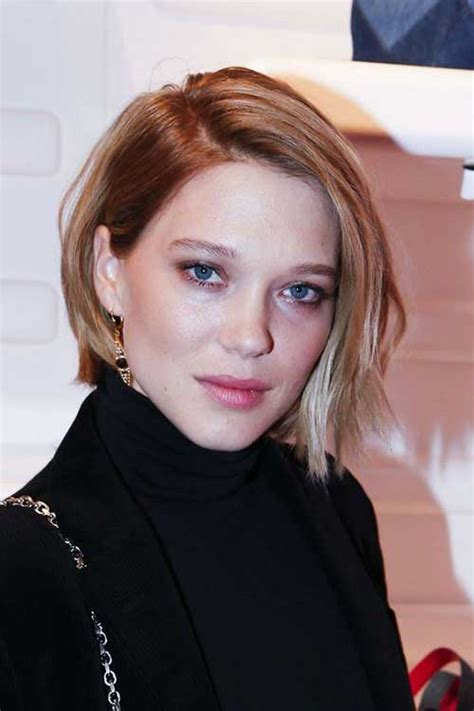 lea seydoux hair 2018 short and modern hairstyles for stylish ladies short