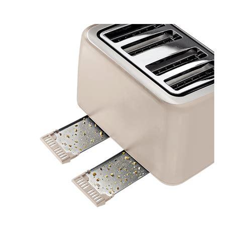 Tefal Toaster Tefal Maison 4 Slice Toaster Oatmeal Grey Tefal From