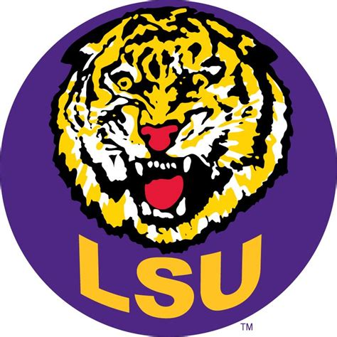 613 best College Logos & Art images on Pinterest | Collage ... Lsu Football Logo