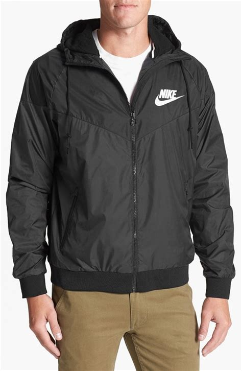 Jaket Parasut Nike Jaket Windbreaker Windrunner Grey Black 1 nike windrunner hooded jacket where to buy how to wear