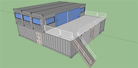 Free Shipping Container House Floor Plans Modern Modular Sea Container Home Designs