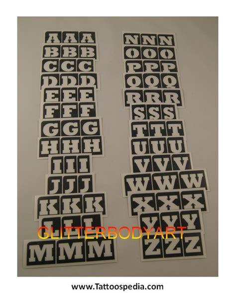 temporary tattoo alphabet temporary tattoos letters uk 1