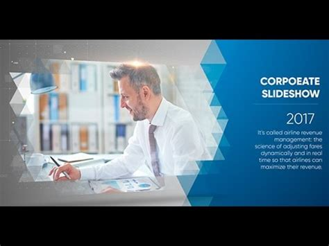 Clean Corporate Slideshow After Effects Project Files Ae Templates 2017 Youtube After Effects Project Files And Templates Free