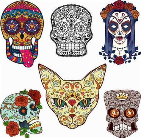 Imagenes Vectoriales Calaveras | 6 calaveras mexicanas en vectores gratuitas y de alt 237 sima