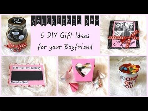 day gift ideas for your boyfriend 5 and easy valentine s day gift diys for your