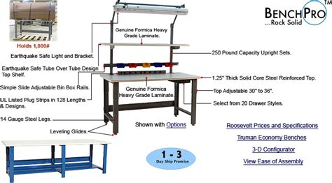 kennedy work bench workbenches and chairs www arthurrock com