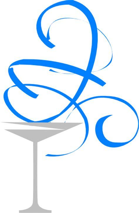 blue martini clip martini glass clip at clker com vector clip