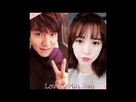lee minho dan goo hye sun 2014 lee min ho goo hye sun run to you happy 5th