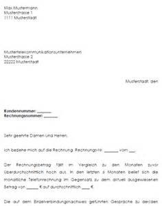 Musterbrief Reklamation Telefonrechnung Vertrag Vorlage Digitaldrucke De Reklamation Einer