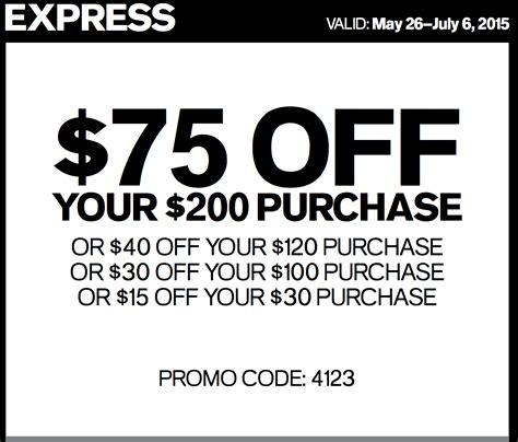 Express Coupons Printable 30 75