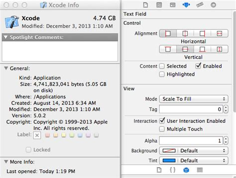 xcode text field layout ios7 error in xcode can t see attribute for text field