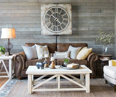 brighten dark rooms on pinterest farmhouse furniture dark brown carpet and southwest kitchen decorating with brown leather furniture tips for a