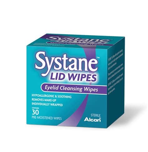 eye wipes systane 174 lid wipes systane