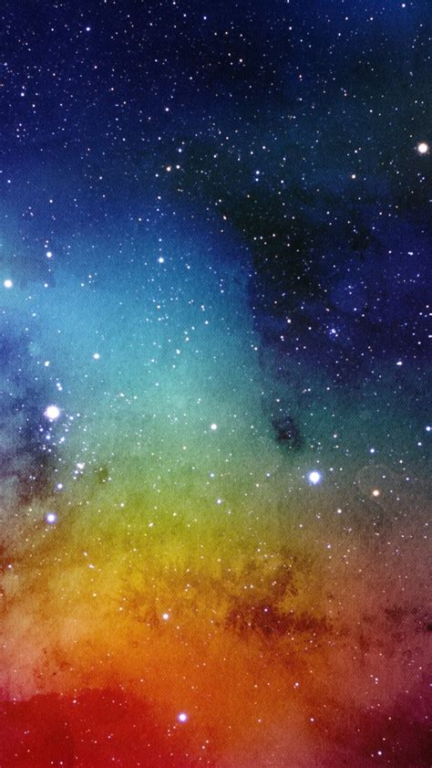 wallpaper nebula stars painting watercolors texture