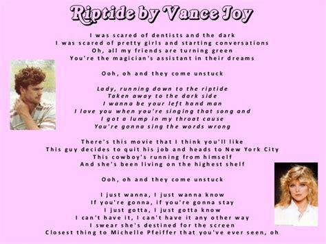 riptide vance joy